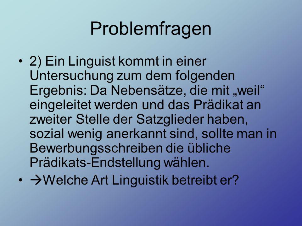 Problemfragen