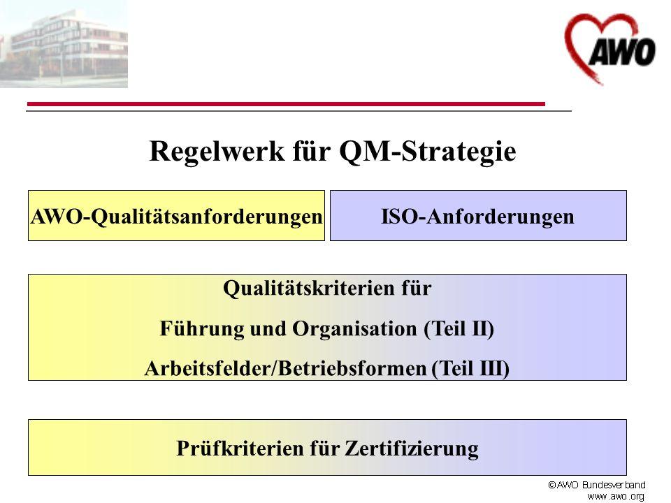 Regelwerk für QM-Strategie