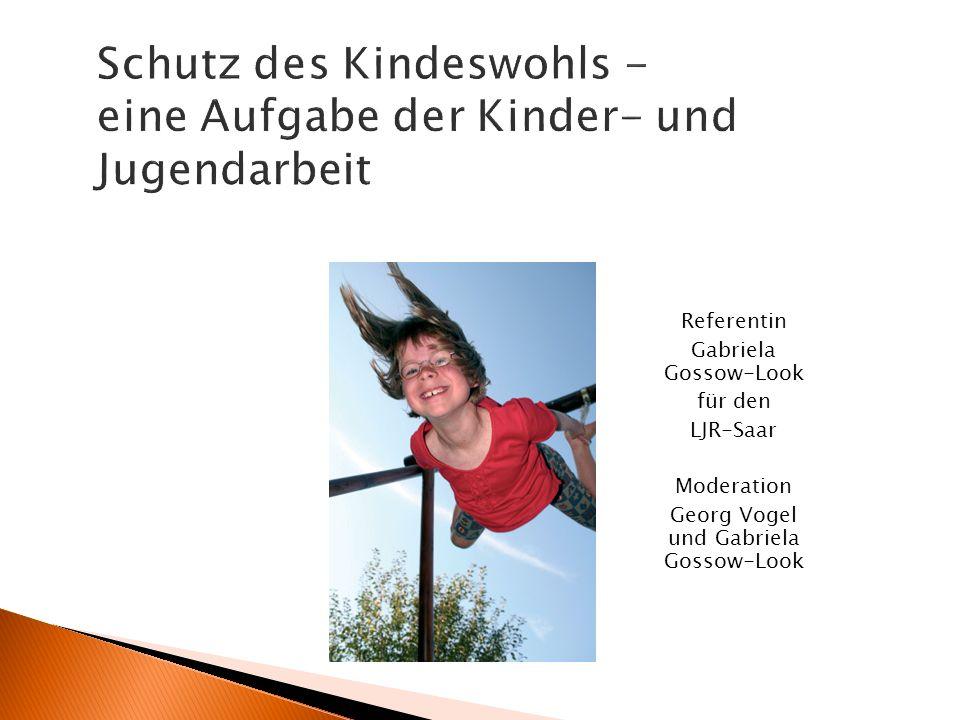 Schutz des Kindeswohls - eine Aufgabe der Kinder- und Jugendarbeit