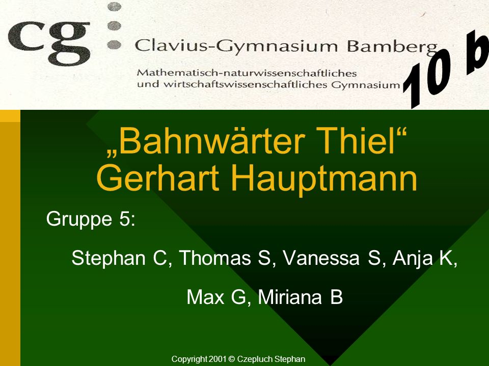 """Bahnwärter Thiel Gerhart Hauptmann"
