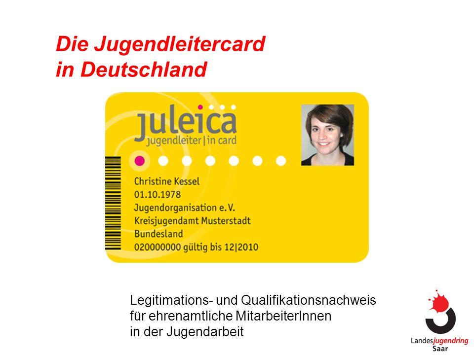 Die Jugendleitercard in Deutschland