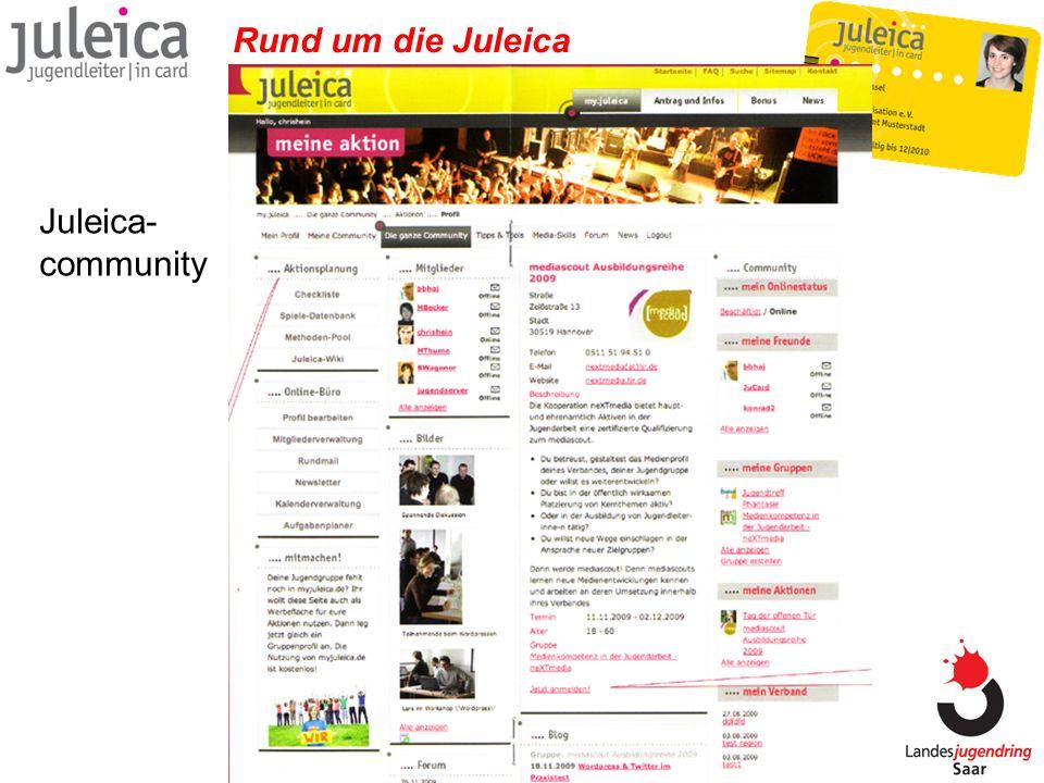 Rund um die Juleica Juleica- community