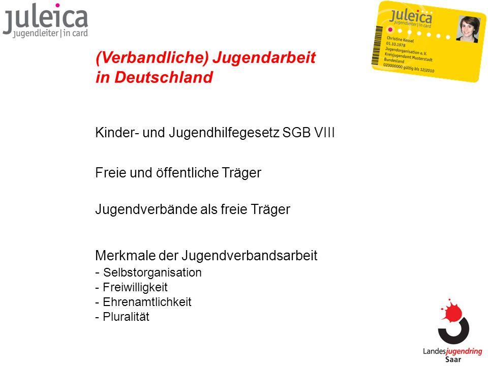 (Verbandliche) Jugendarbeit in Deutschland