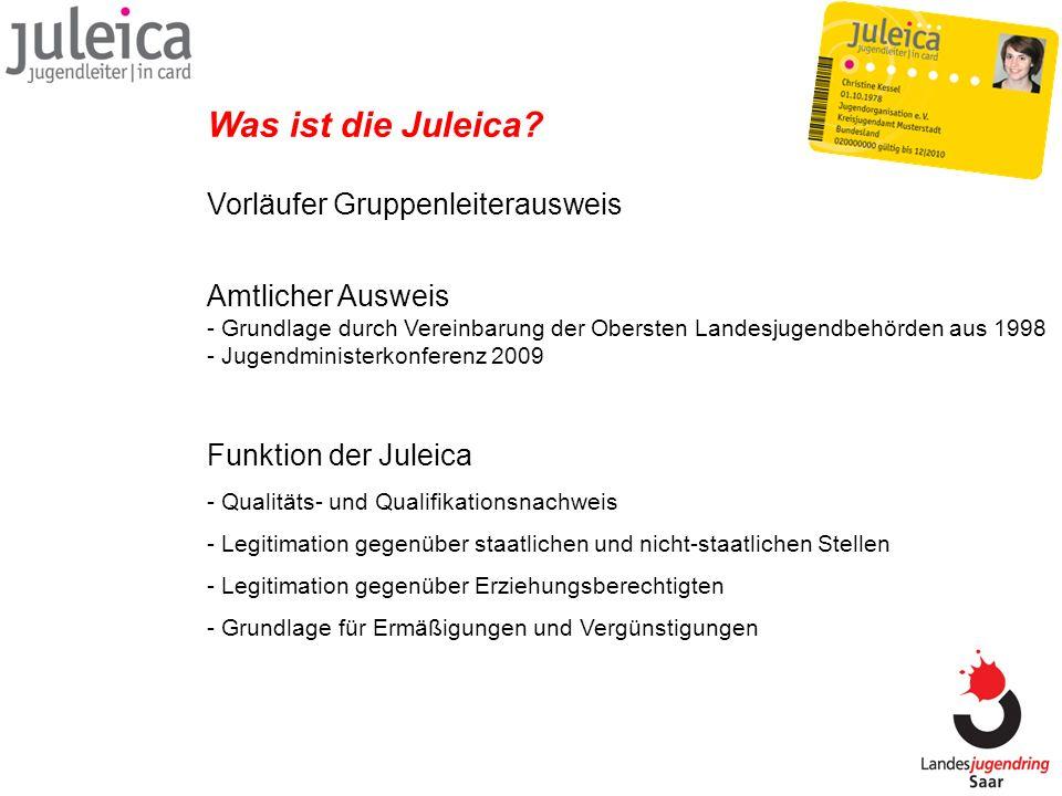 Was ist die Juleica Vorläufer Gruppenleiterausweis
