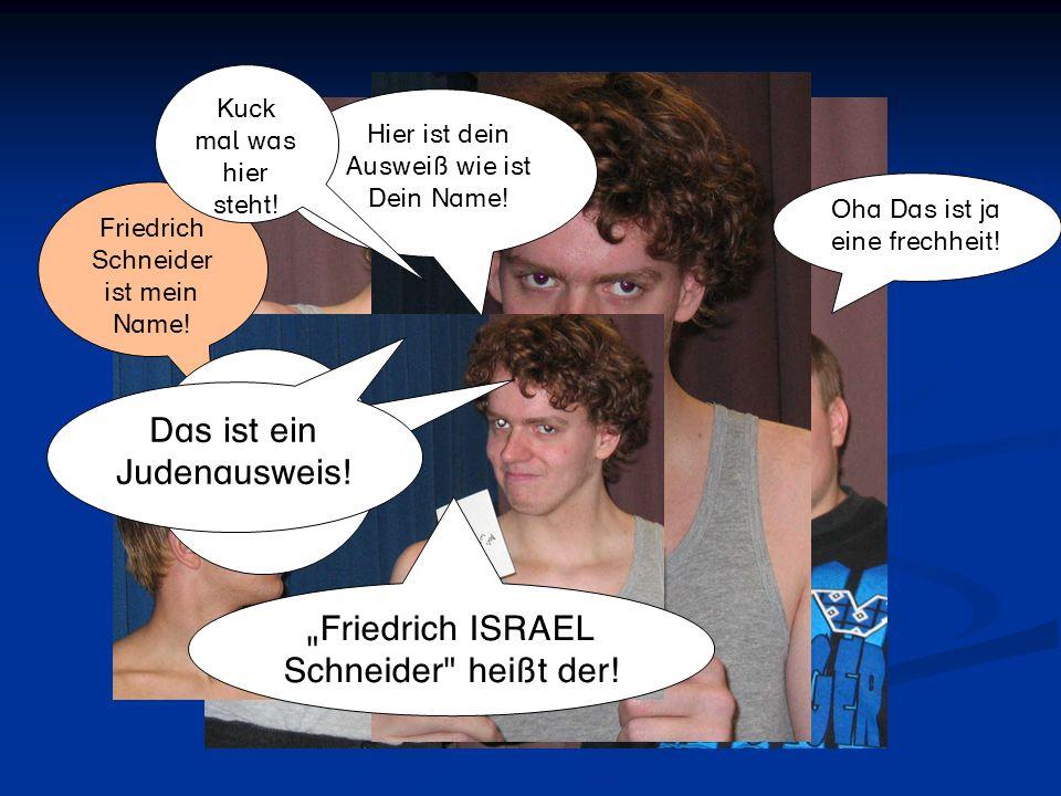 Das ist ein Judenausweis!