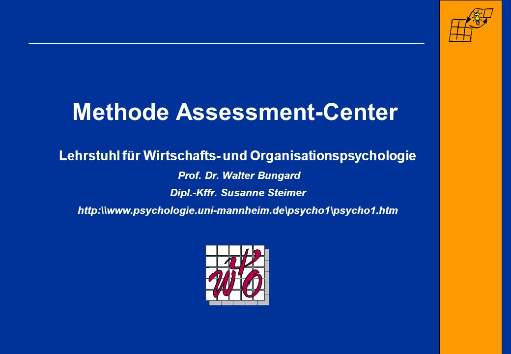 Methode Assessment-Center