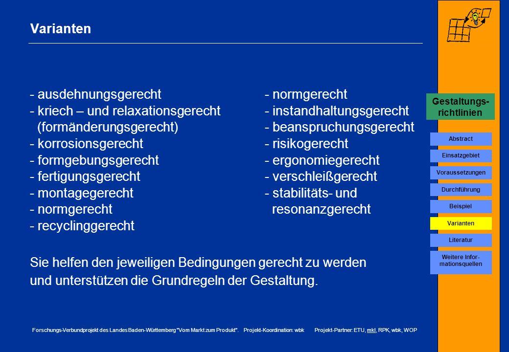 Gestaltungs-richtlinien Weitere Infor-mationsquellen