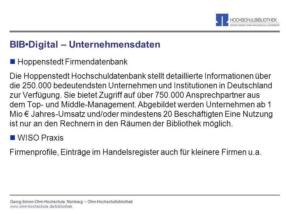 BIB•Digital – Unternehmensdaten