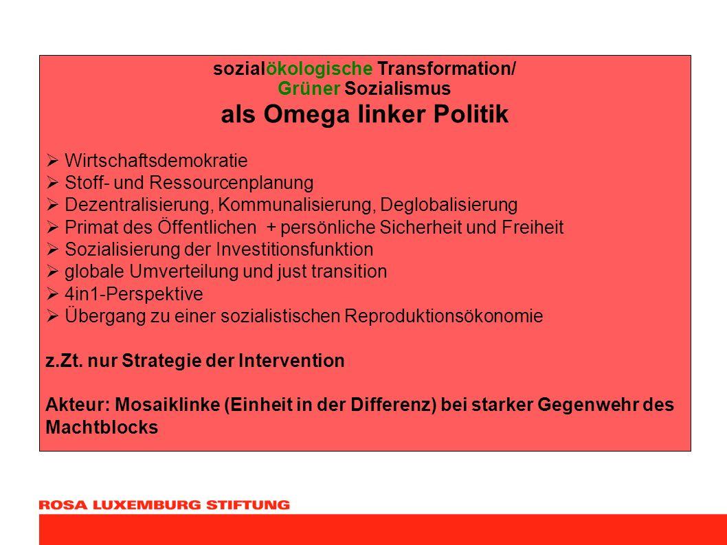 sozialökologische Transformation/