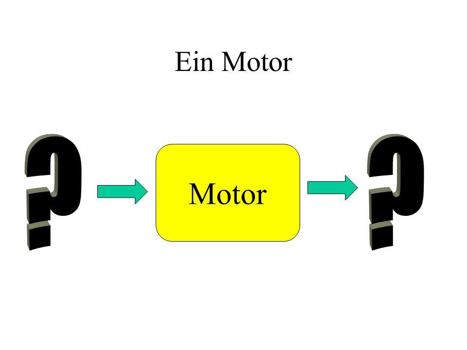 Ein Motor Motor