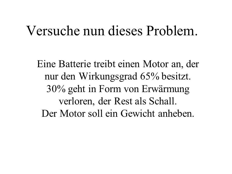 Versuche nun dieses Problem.