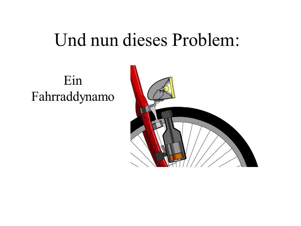Und nun dieses Problem: