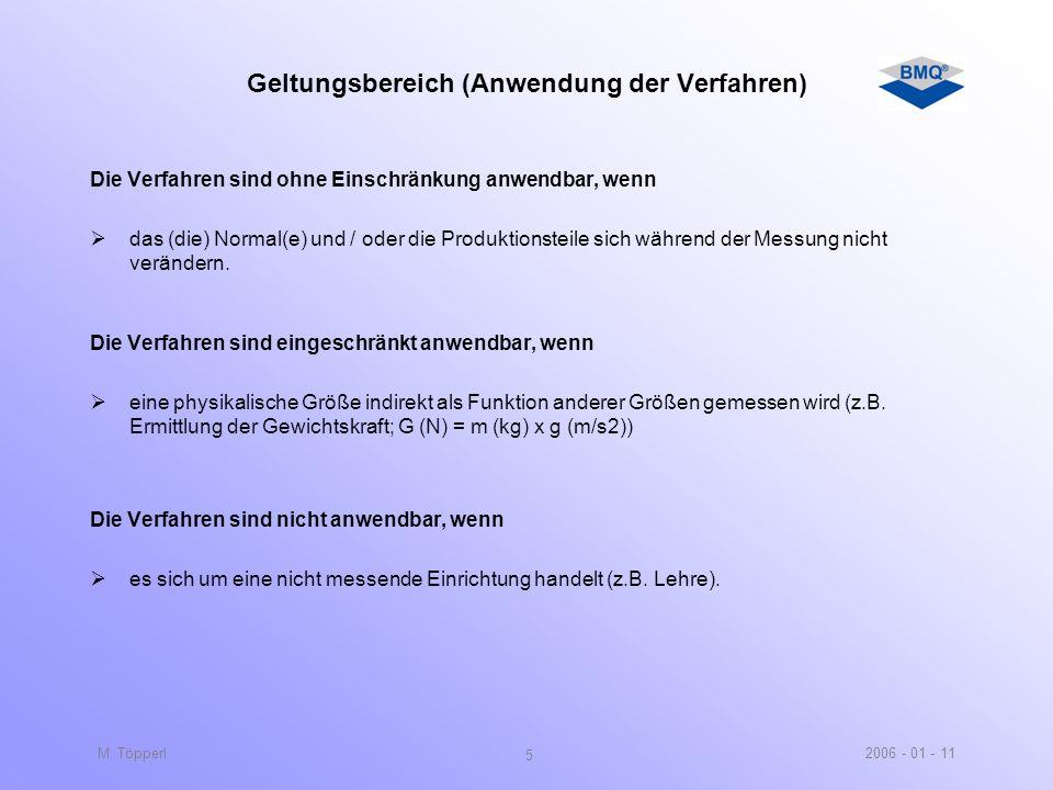 Geltungsbereich (Anwendung der Verfahren)