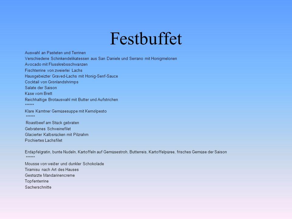 Festbuffet