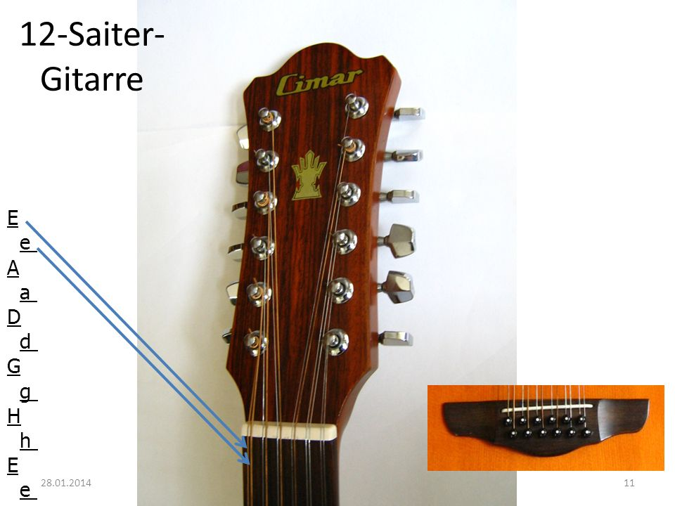 12-Saiter-Gitarre E e A a D d G g H h 27.03.2017