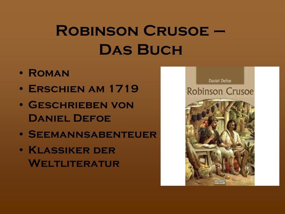 Robinson Crusoe – Das Buch
