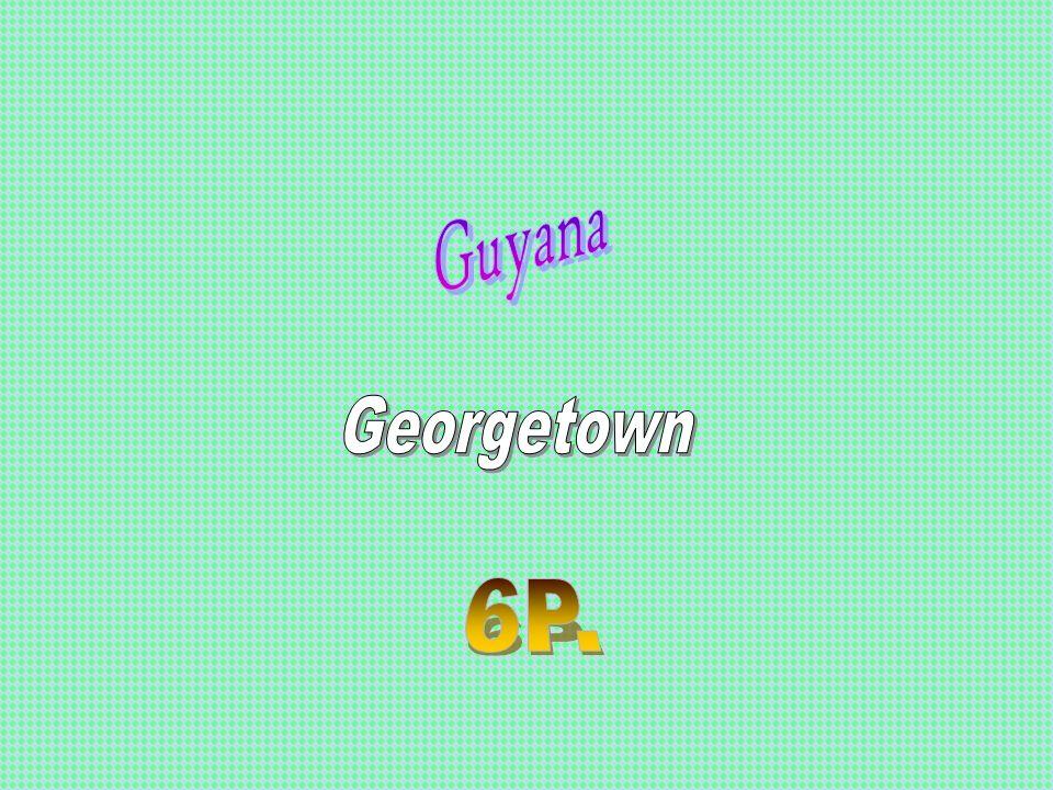 Guyana Georgetown 6P.