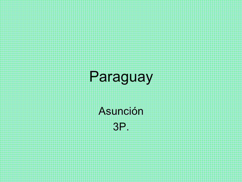 Paraguay Asunción 3P.