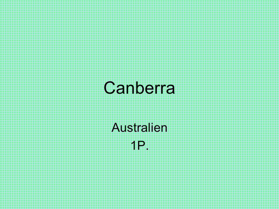 Canberra Australien 1P.