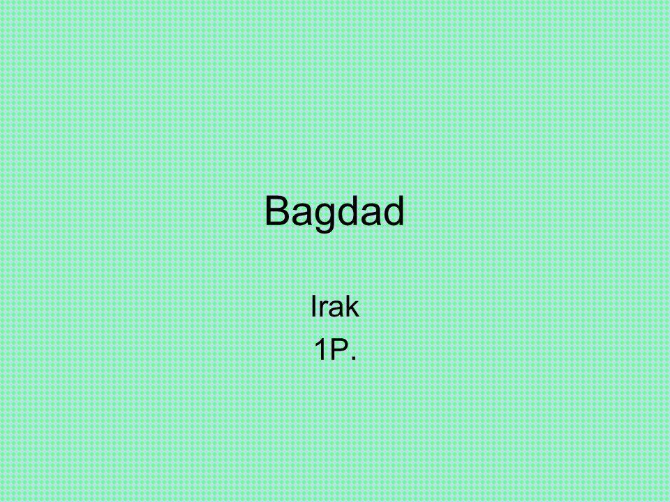 Bagdad Irak 1P.