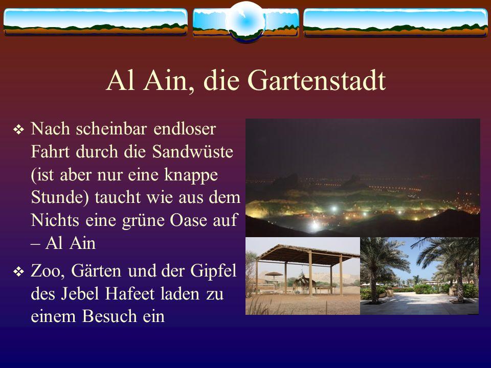 Al Ain, die Gartenstadt