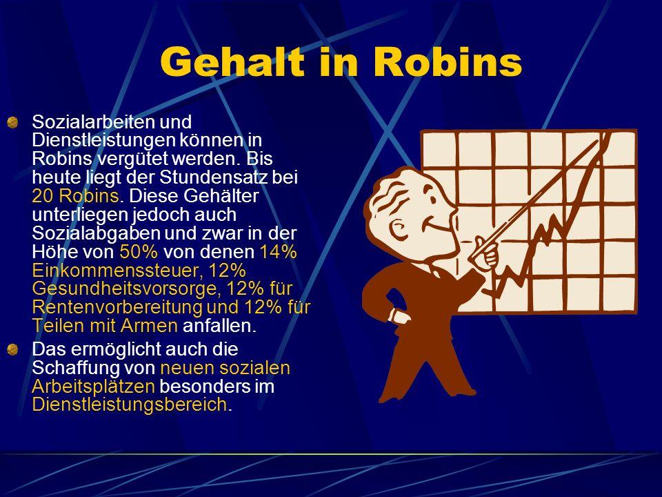 Gehalt in Robins