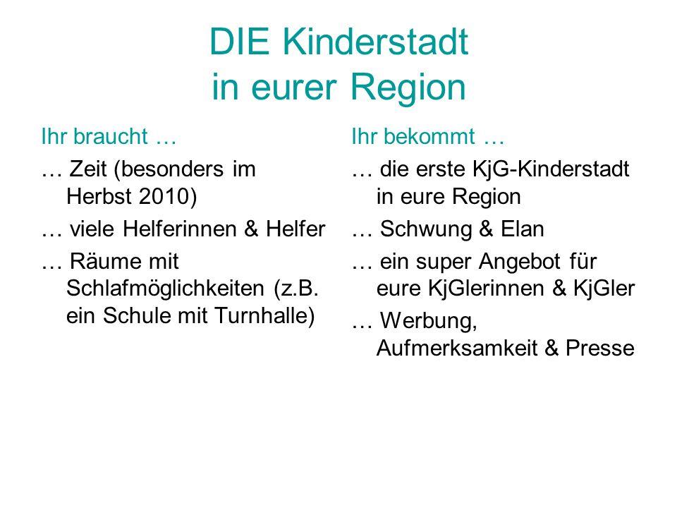 DIE Kinderstadt in eurer Region