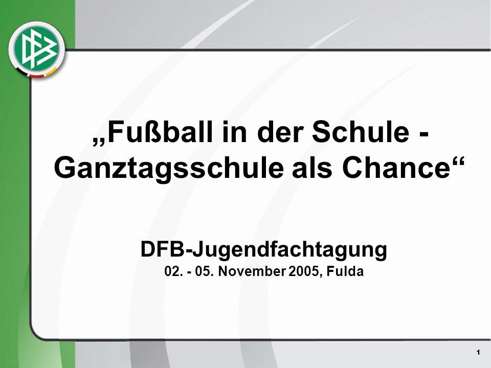 """""""Fußball in der Schule - Ganztagsschule als Chance"""
