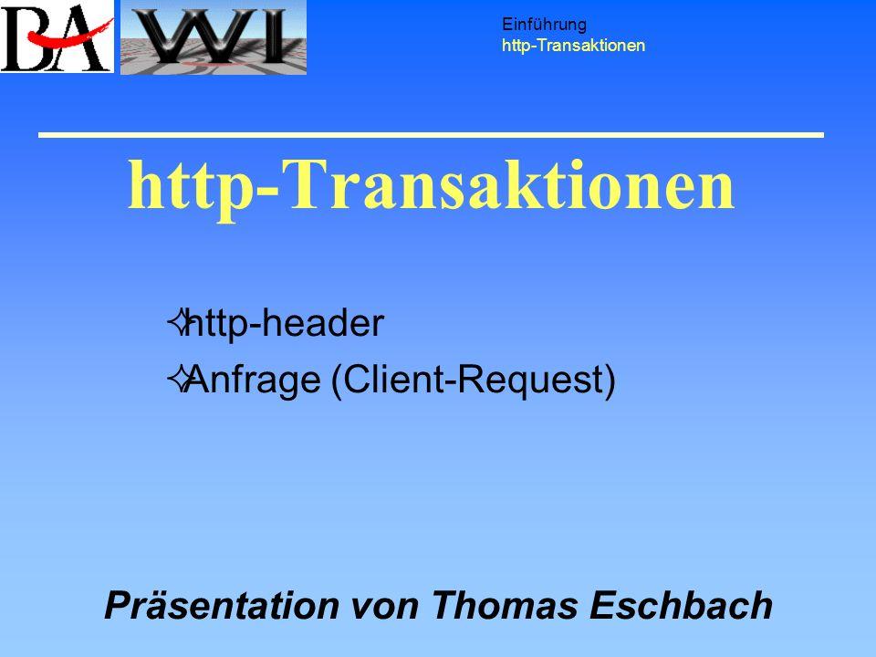 http-header Anfrage (Client-Request)