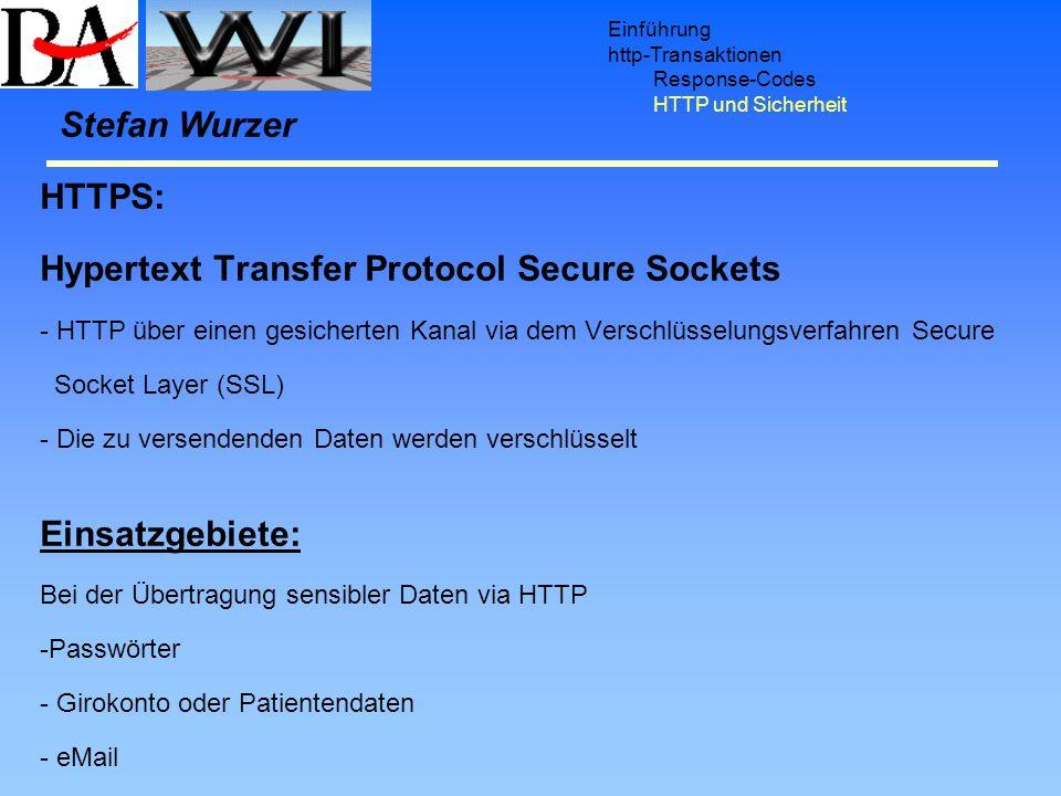 Hypertext Transfer Protocol Secure Sockets