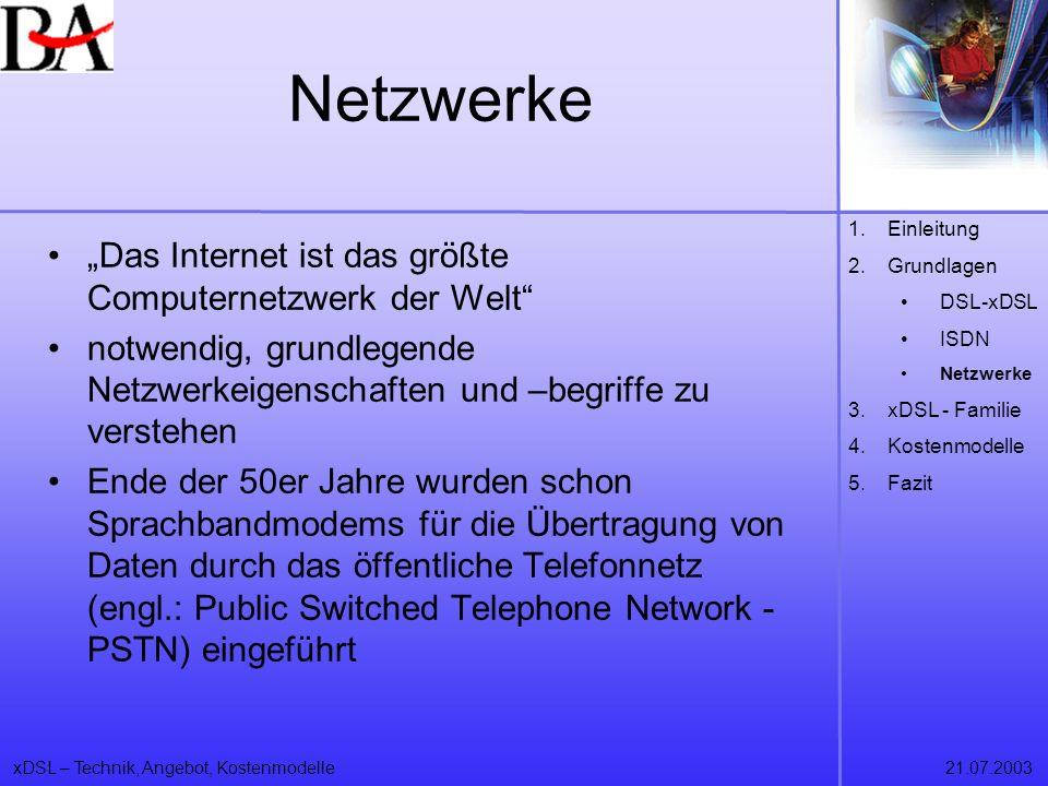 """Netzwerke """"Das Internet ist das größte Computernetzwerk der Welt"""