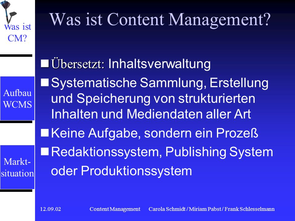 Was ist Content Management