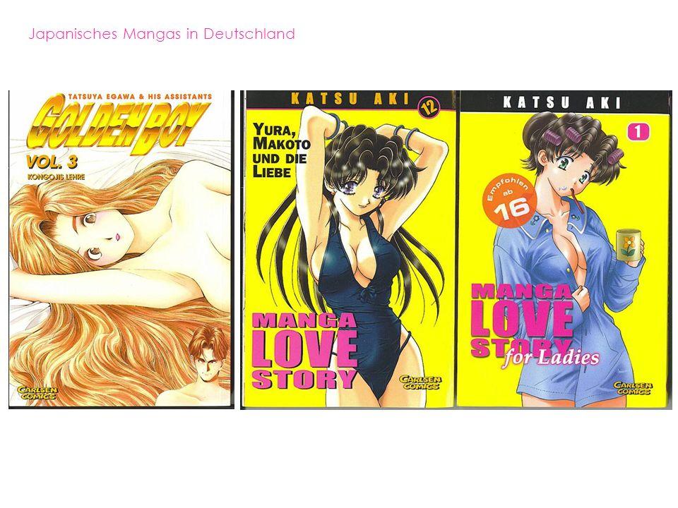 Japanisches Mangas in Deutschland