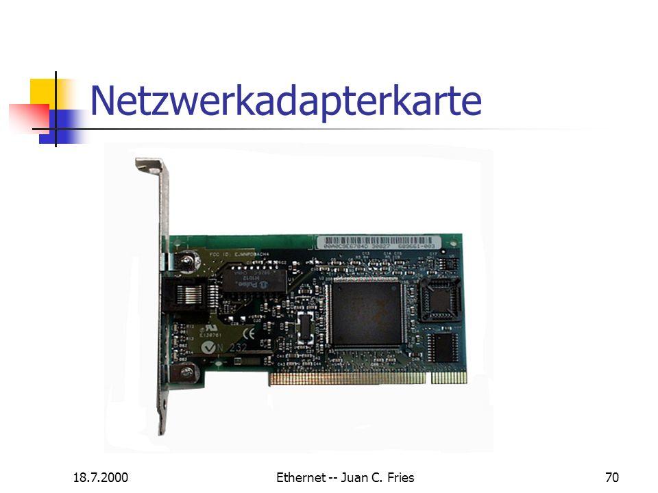 Netzwerkadapterkarte