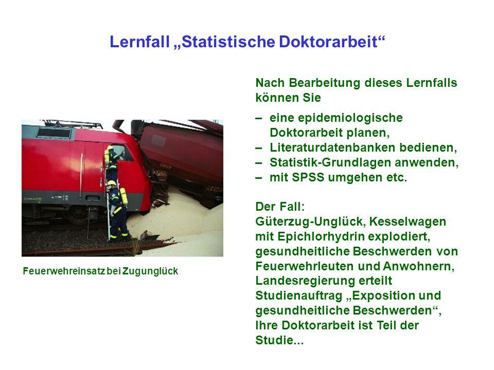 """Lernfall """"Statistische Doktorarbeit"""
