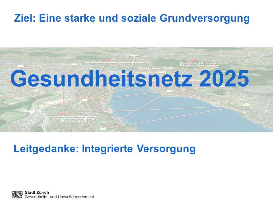 Leitgedanke: Integrierte Versorgung