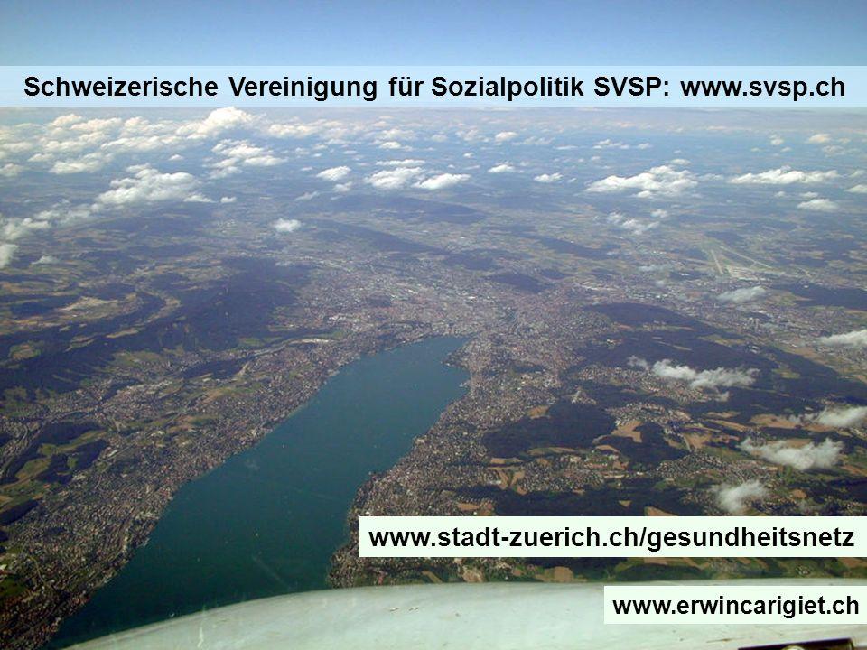 Schweizerische Vereinigung für Sozialpolitik SVSP: www.svsp.ch