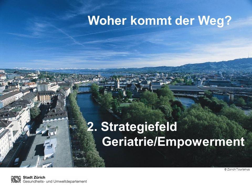 2. Strategiefeld Geriatrie/Empowerment