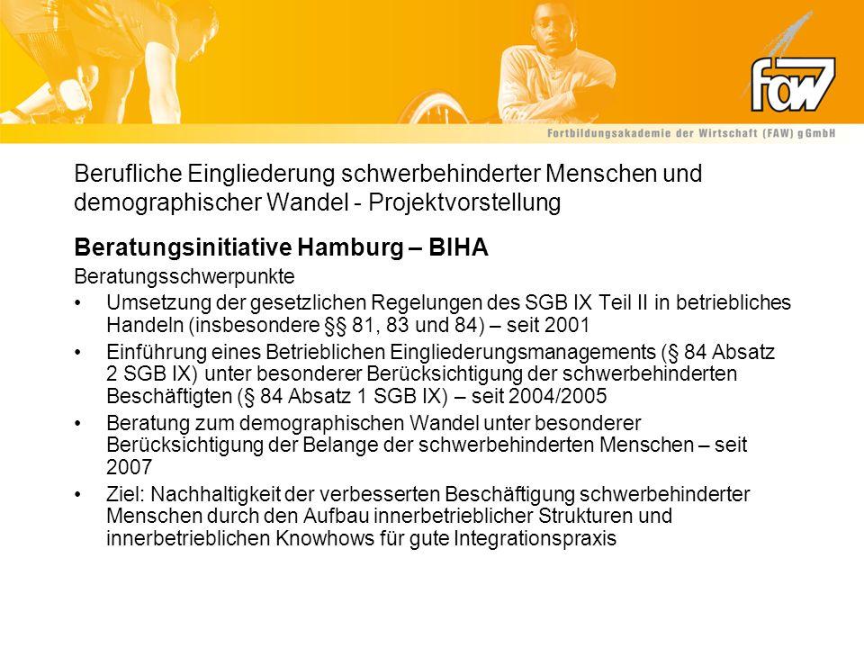 Beratungsinitiative Hamburg – BIHA