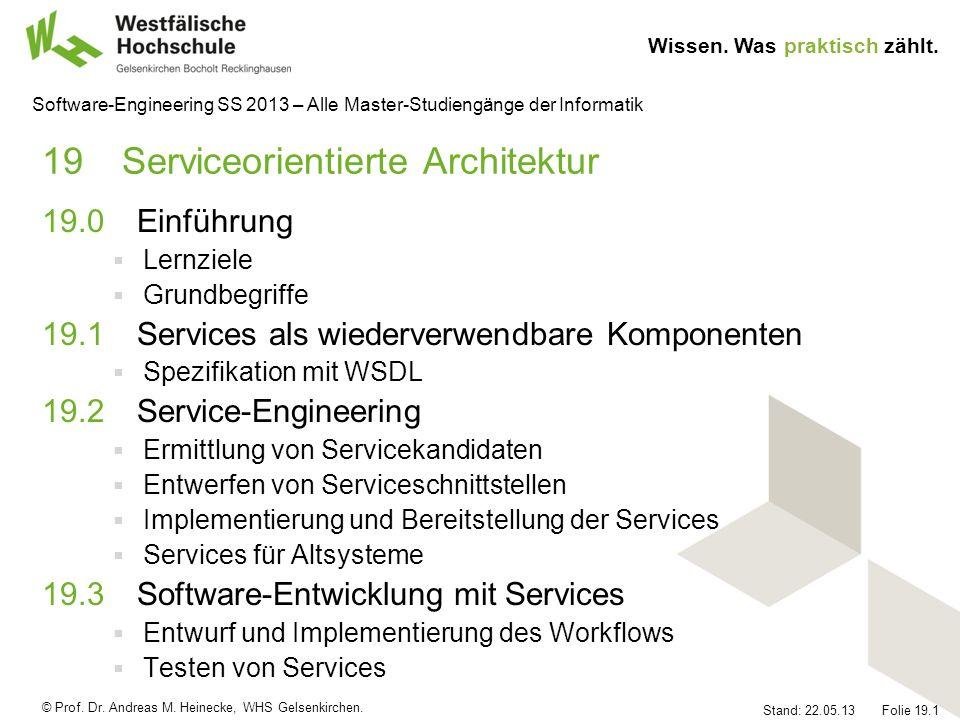 19 Serviceorientierte Architektur