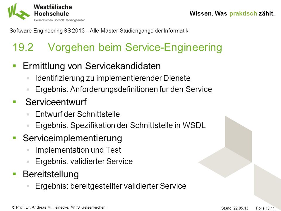 19.2 Vorgehen beim Service-Engineering