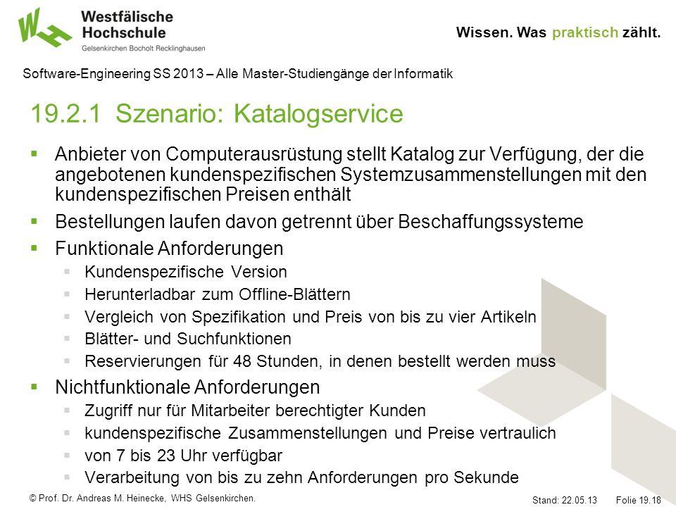 19.2.1 Szenario: Katalogservice
