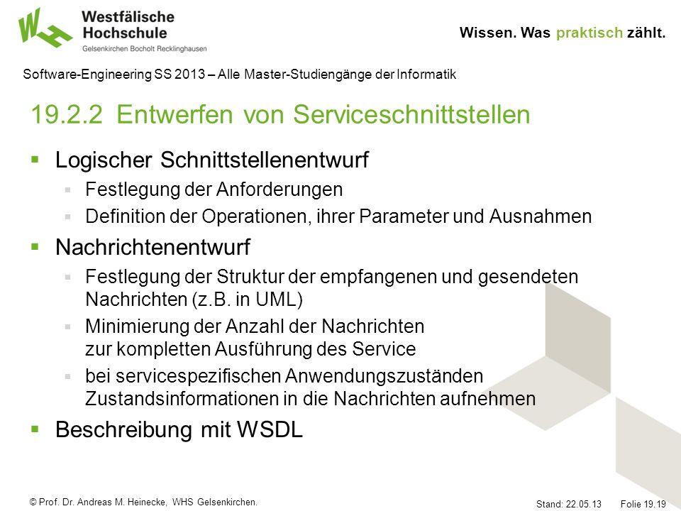 19.2.2 Entwerfen von Serviceschnittstellen