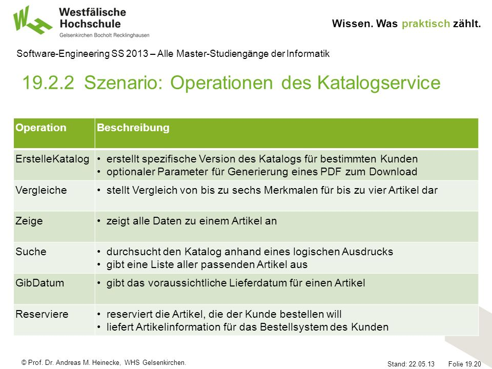 19.2.2 Szenario: Operationen des Katalogservice