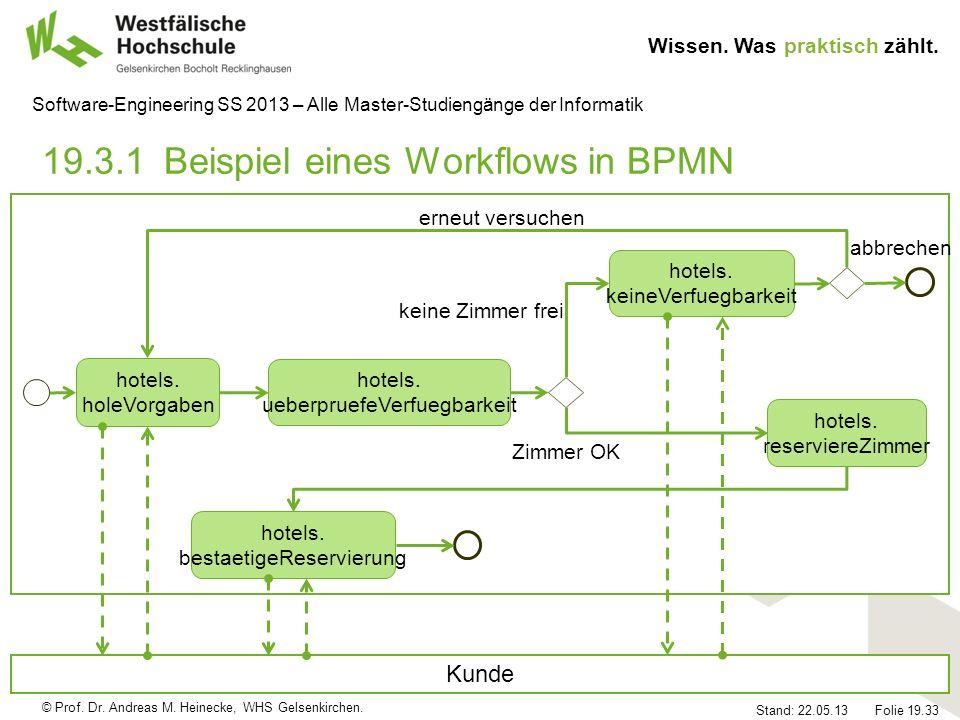 19.3.1 Beispiel eines Workflows in BPMN