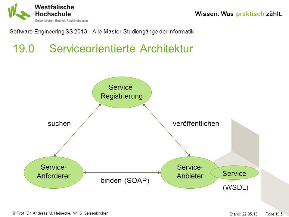 19.0 Serviceorientierte Architektur