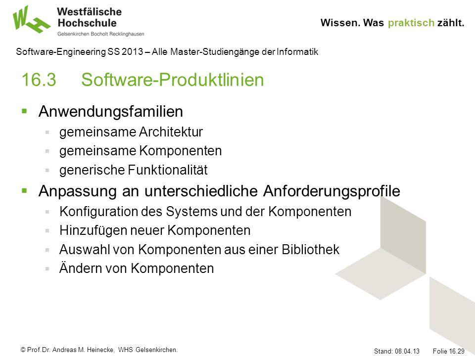 16.3 Software-Produktlinien