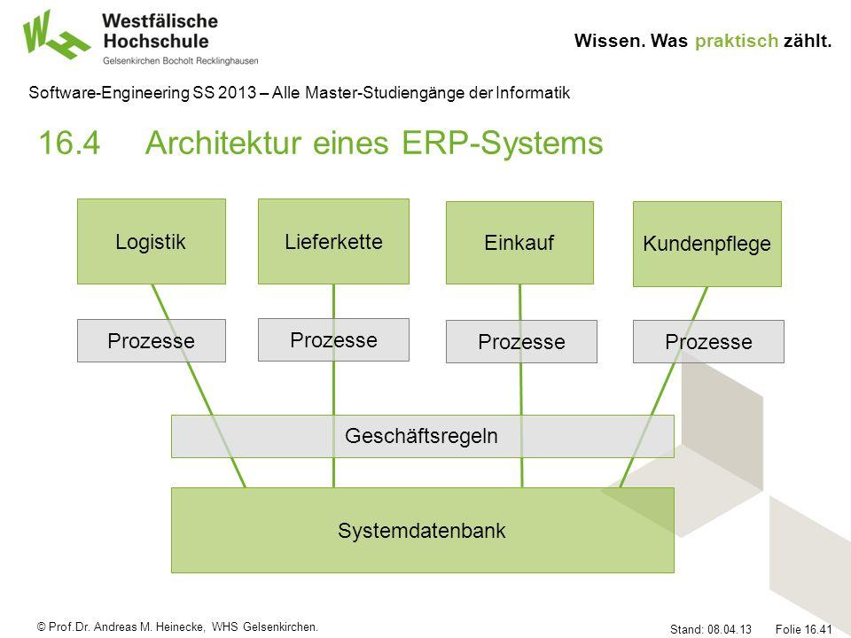 16.4 Architektur eines ERP-Systems