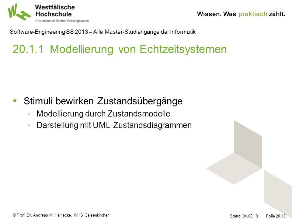 20.1.1 Modellierung von Echtzeitsystemen
