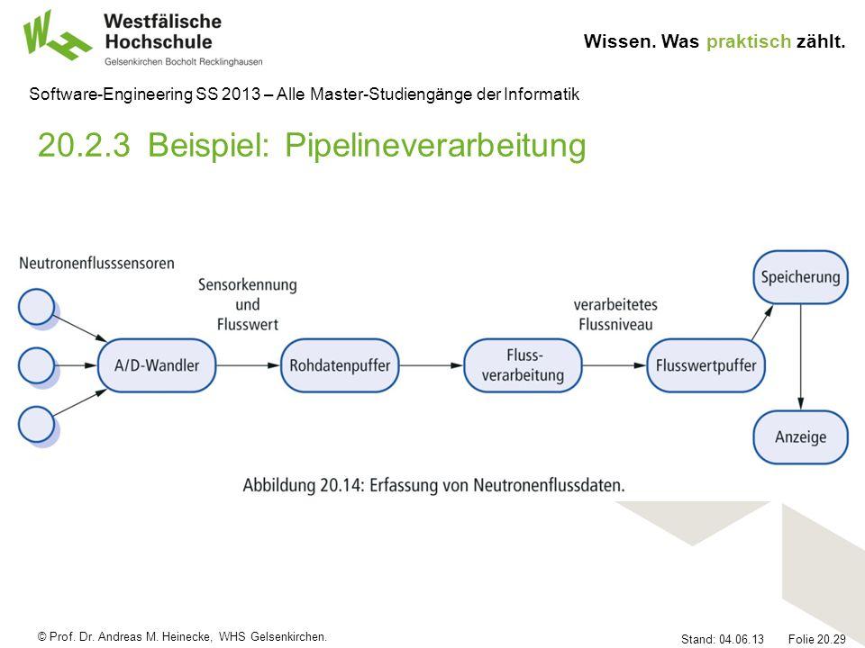 20.2.3 Beispiel: Pipelineverarbeitung